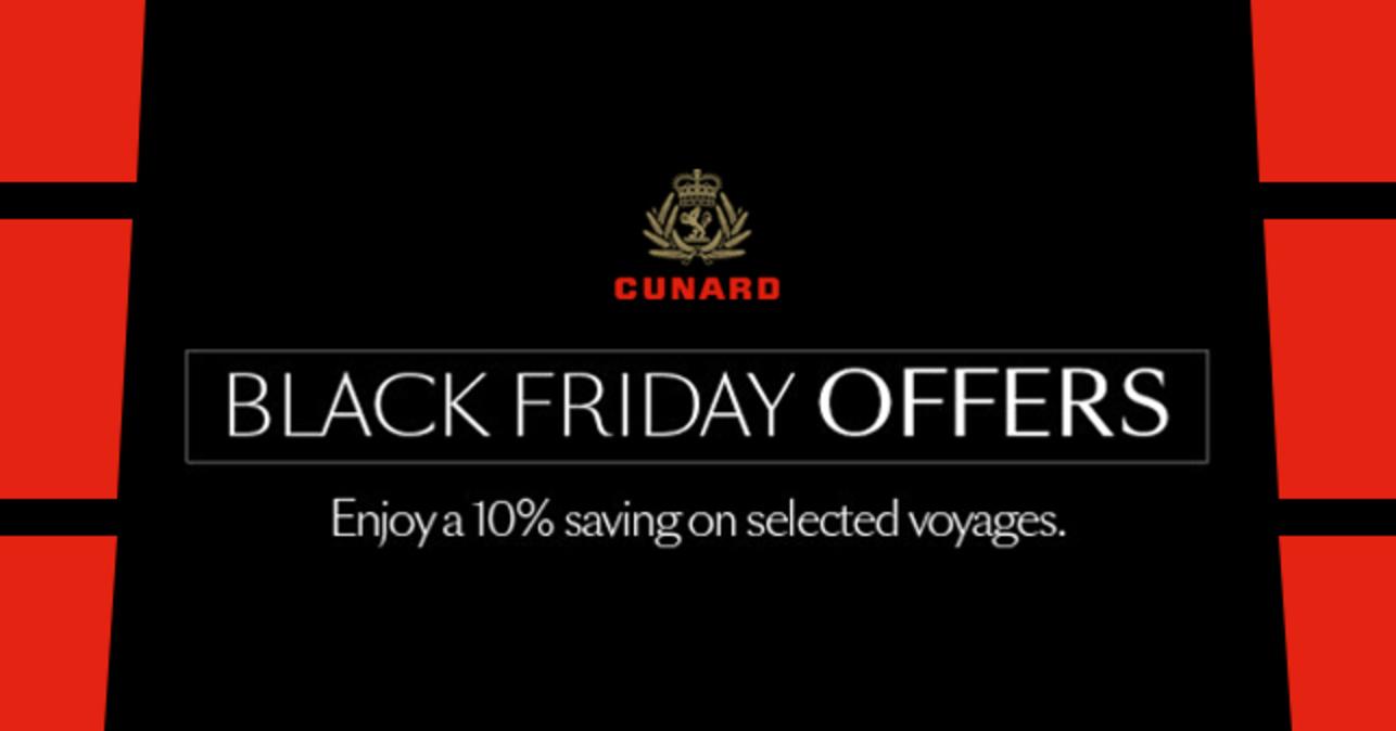 Cunard Black Friday Offers
