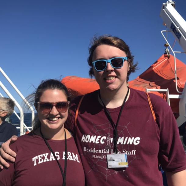 Oceanography graduate students