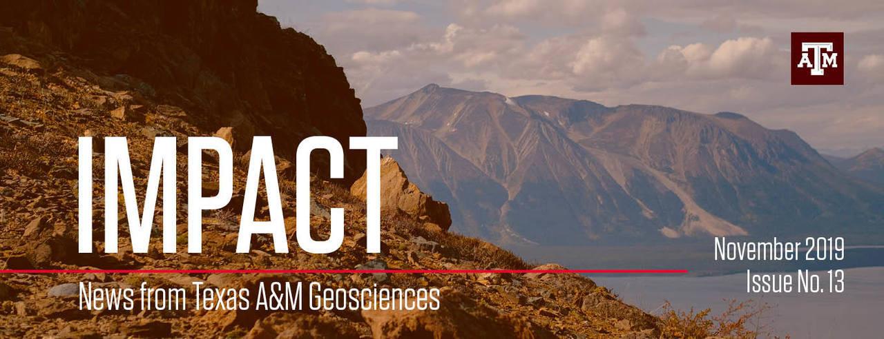 Header image for Impact newsletter November 2019. Issue Number 13.