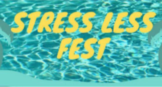 Stress Less Fest webpage