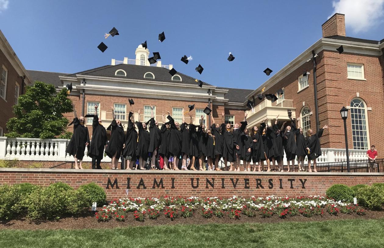 May 2019 graduates celebrating