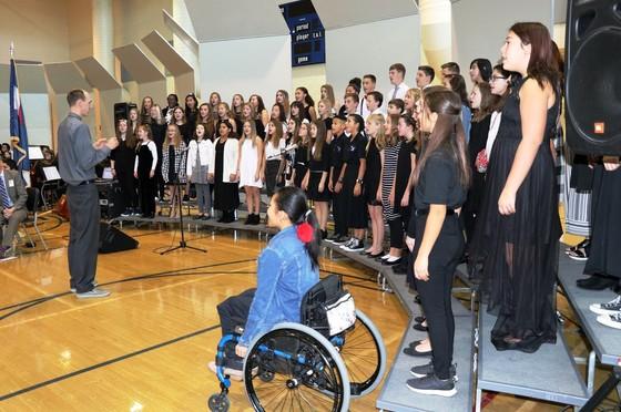 Liberty Middle School Liberty Bells Choir
