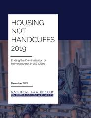 Housing Not Handcuffs