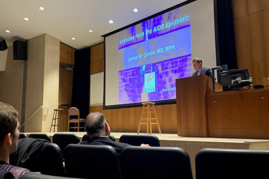 Jim Curran Global Health Seminar