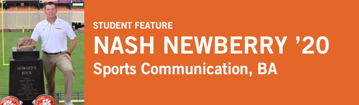 Student Highlight | Nash Newberry '20