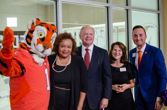 Grand Opening of WYFF4 Bureau at Clemson University