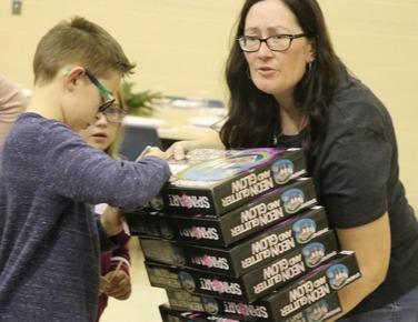 Children's Christmas Programs & Toys for Tots, a TrueNorth community service (December 2019)