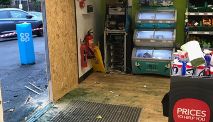 Members of gang who botched cash machine raid branded with chemical