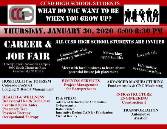 CCIC Career and Job Fair