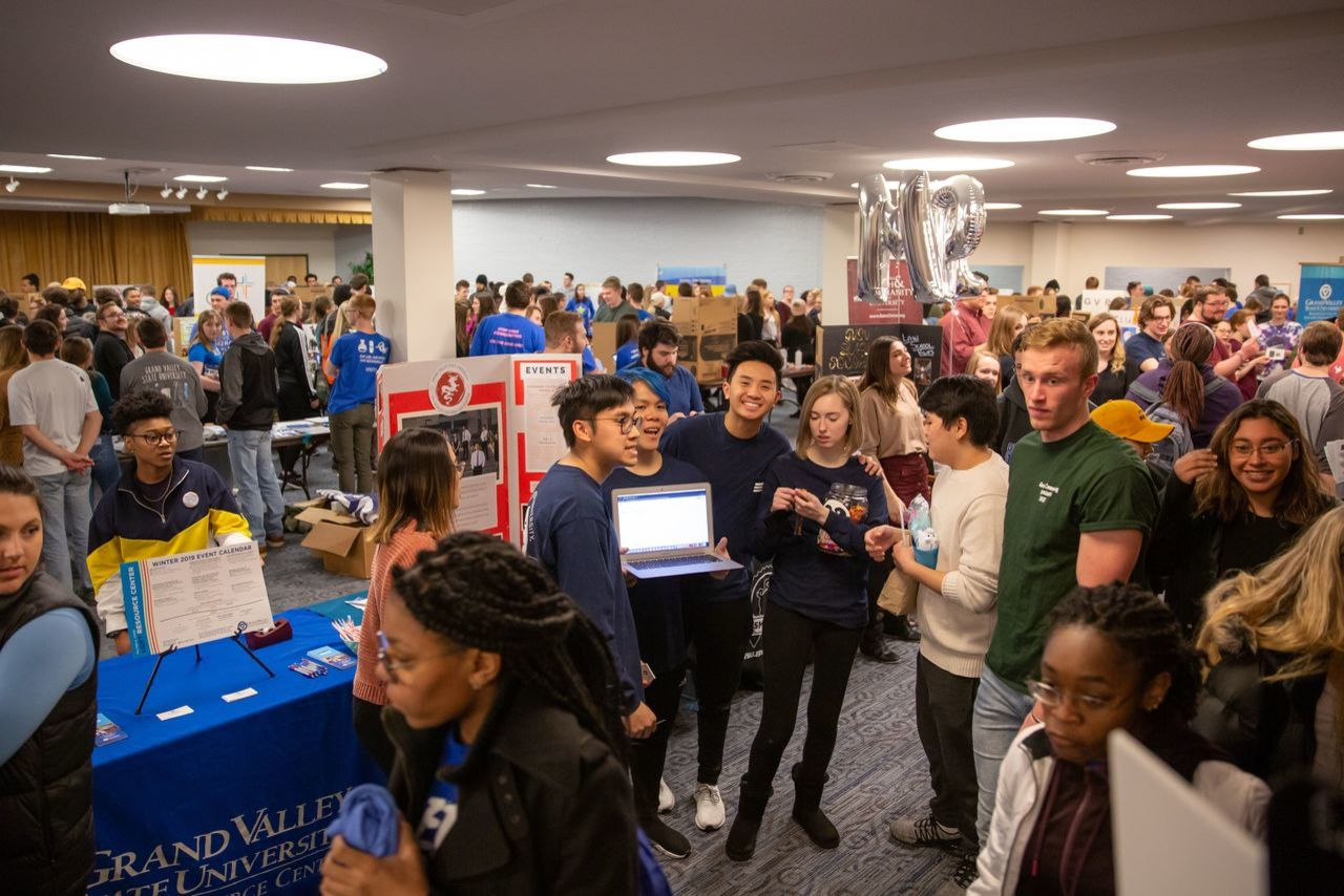 Dozens of students attending campus life night