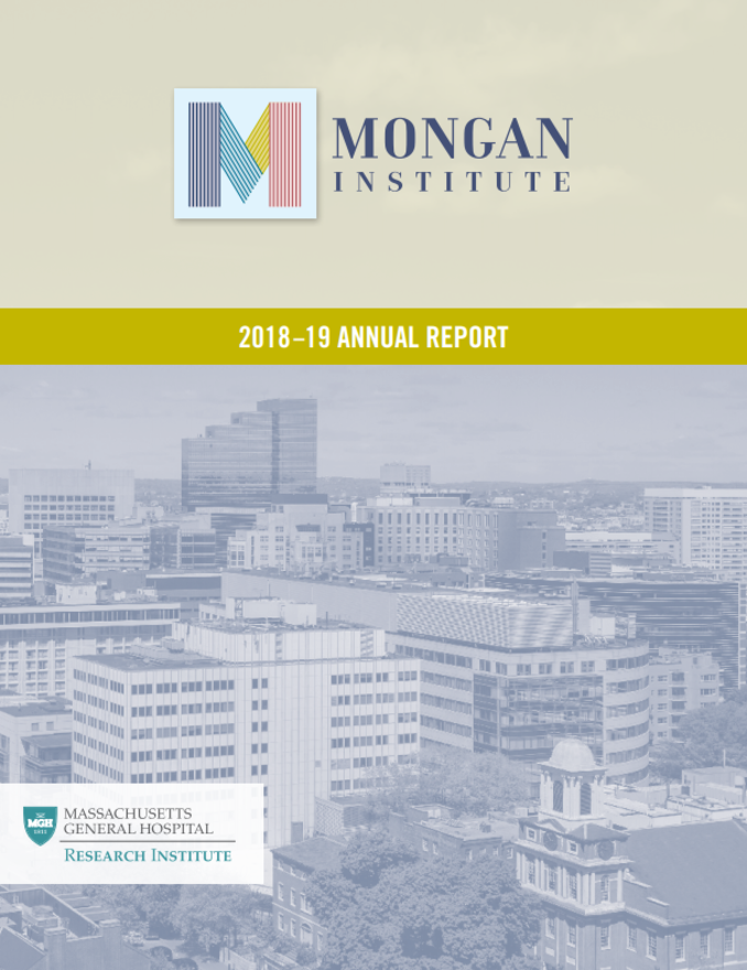 Mongan Institute 2018-19 Annual Report Cover