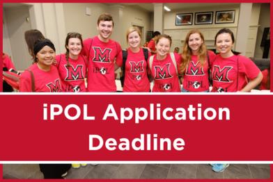 iPOL Application Deadline