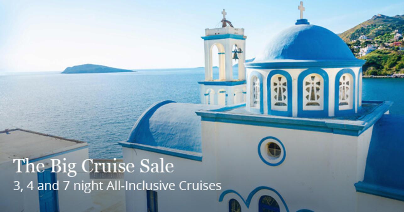 The Big Cruise Sale