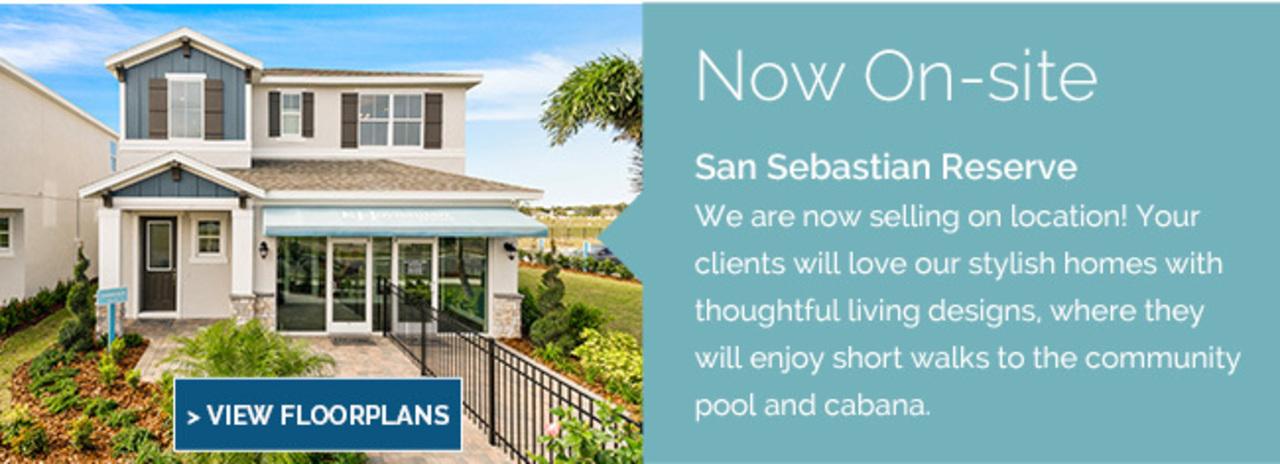 San Sebastian Reserve Now Selling Onsite