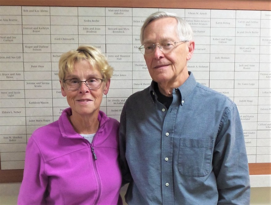 Vicki & Bill Morton