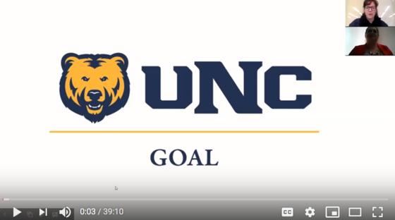 UNC GOAL webinar slide