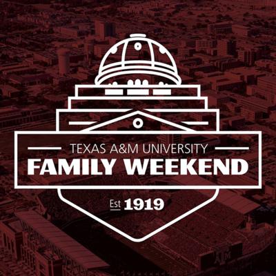 Texas A&M Family Weekend logo