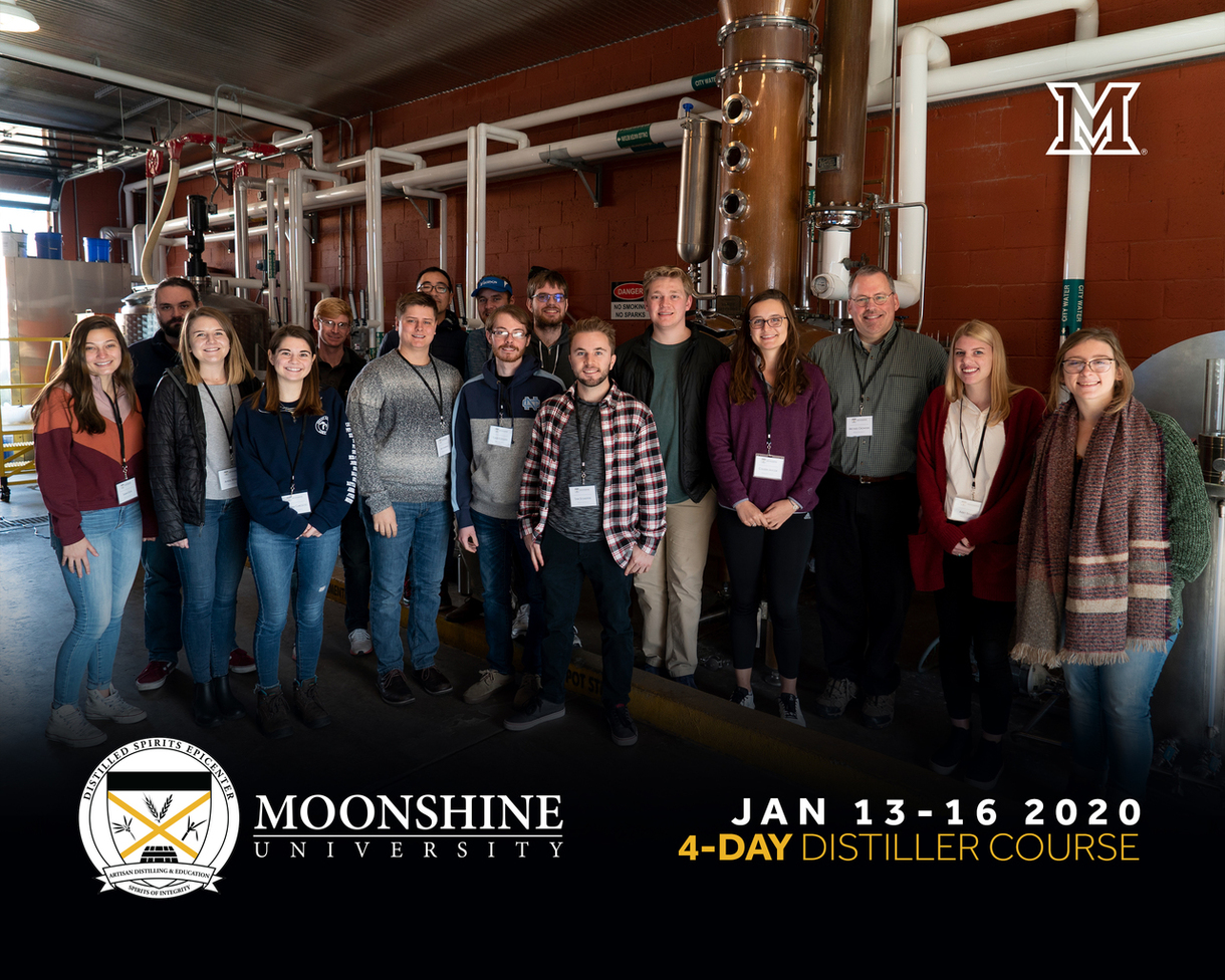 Student graduates of Moonshine University in January 2020