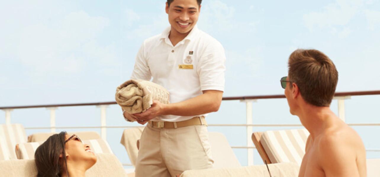 Cunard Benefits