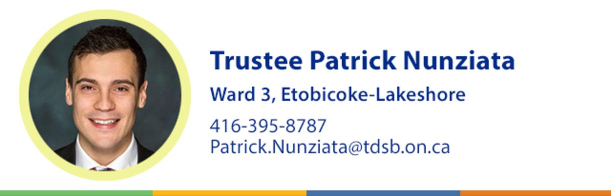 Trustee Patrick Nunziata Header