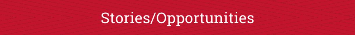 Stories/opportunities