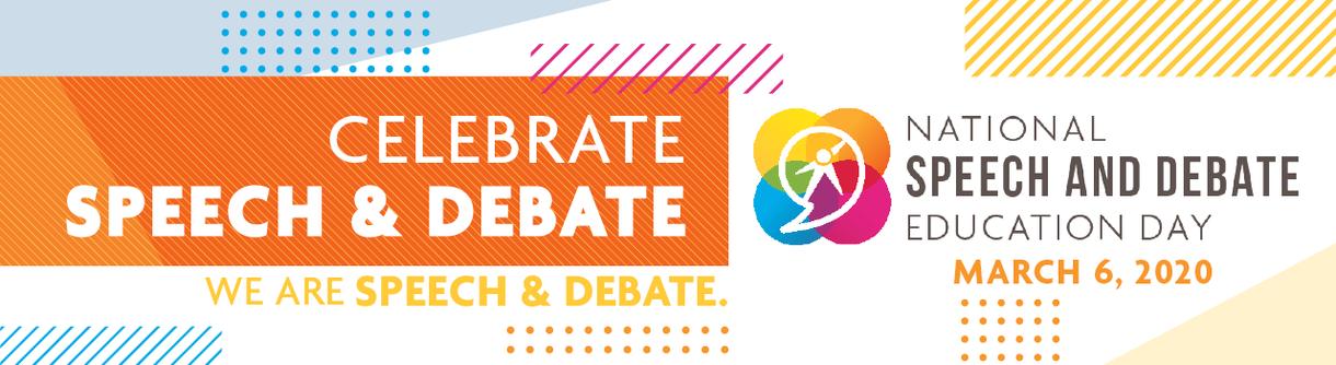 Celebrate speech and debate!