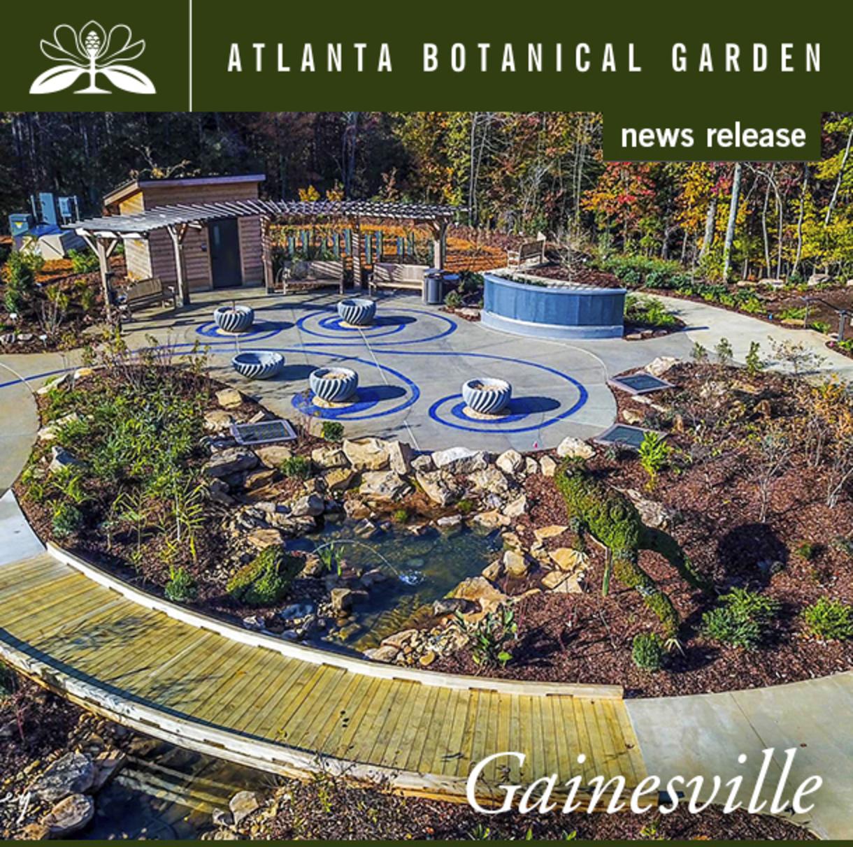Children's Garden Atlanta Botanical Garden Gainesville
