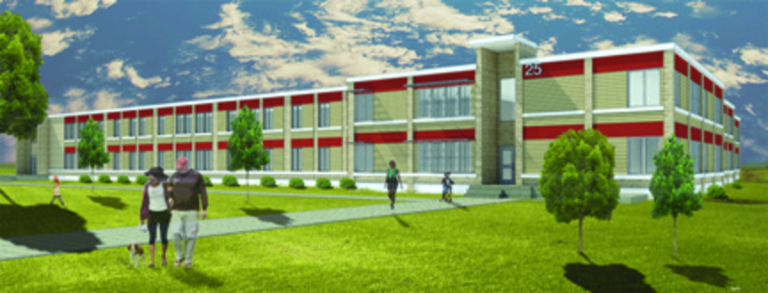 A rendering of the People Inc. Grant Street apartments.