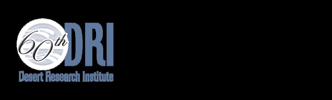 Desert Research Institute 60th logo/CIWAS