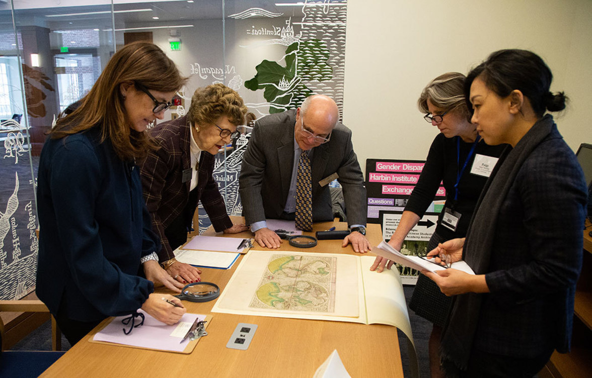 Trustees and the Knafel Map Collection