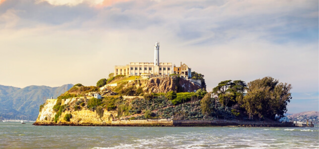 Alcatraz Island in San Francisco USA