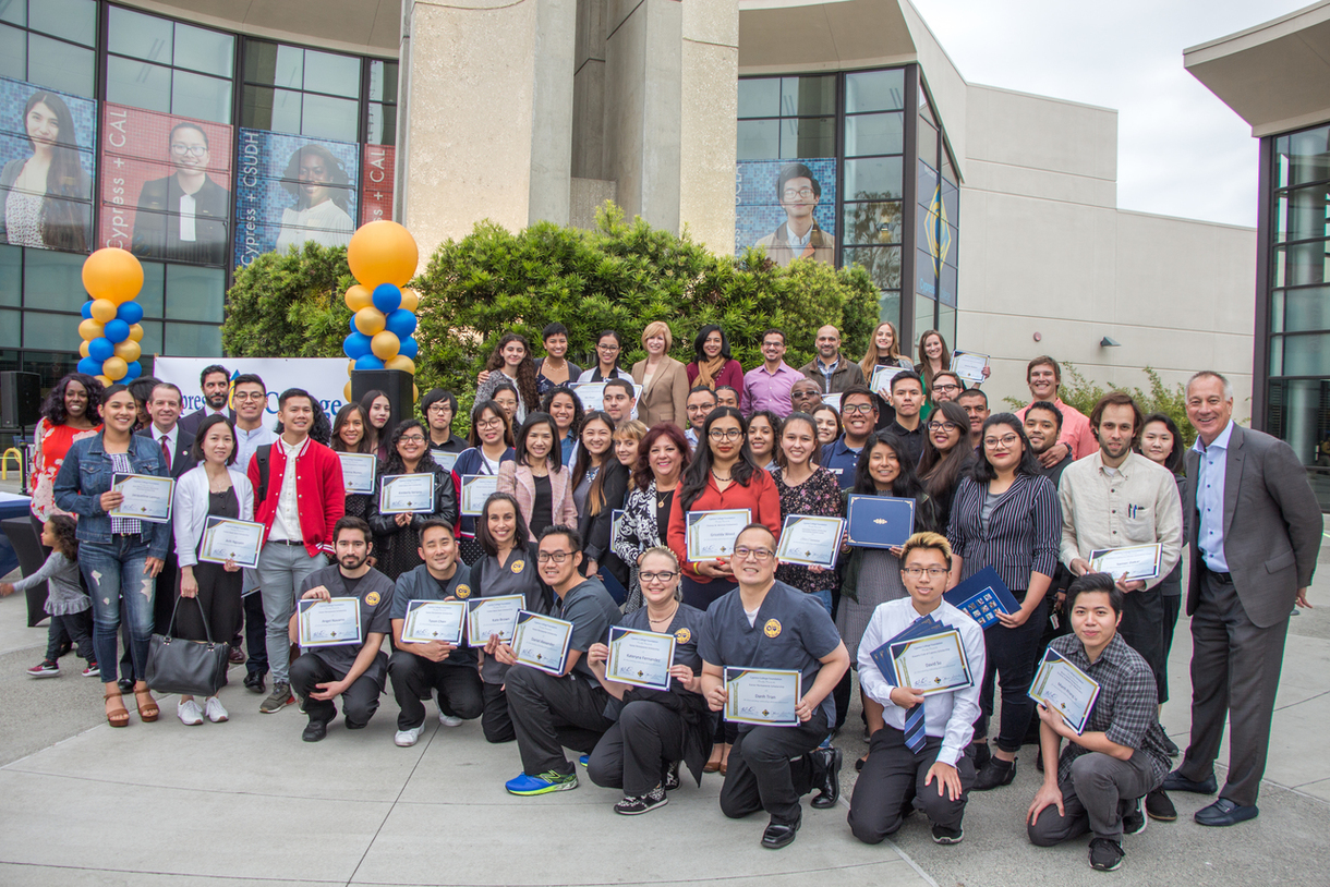 2019 Foundation Scholarship Awards Ceremony in Gateway Plaza