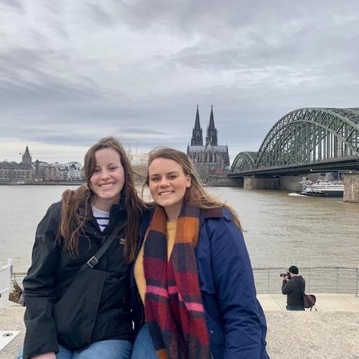 MUDEC girls in Koln, Germany