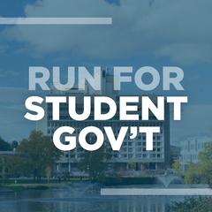 Run for Student Gov't