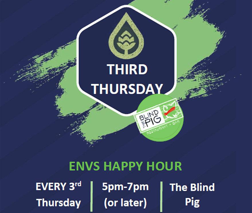ENVS Social Hour at The Blind Pig
