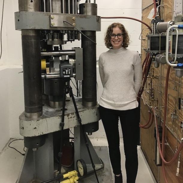 Texas A&M Geology and Geophysics graduate student, Monica Barbery