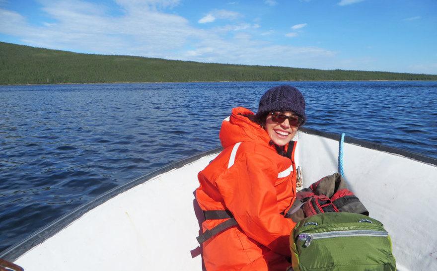 Darya Anderson studied subarctic microbes