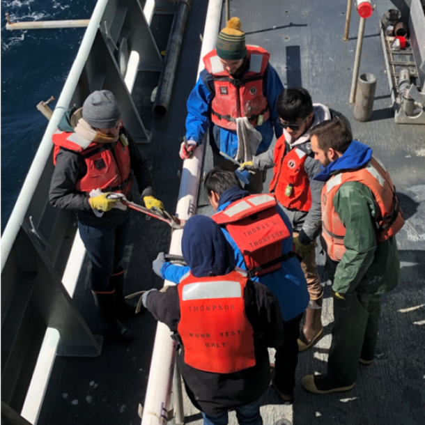 Investigating Past Ocean Circulation, Slowey Led NSF-Funded Southern Argentine Margin Expedition