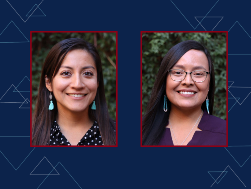 Two graduate students chosen as 2020 Impact Leaders