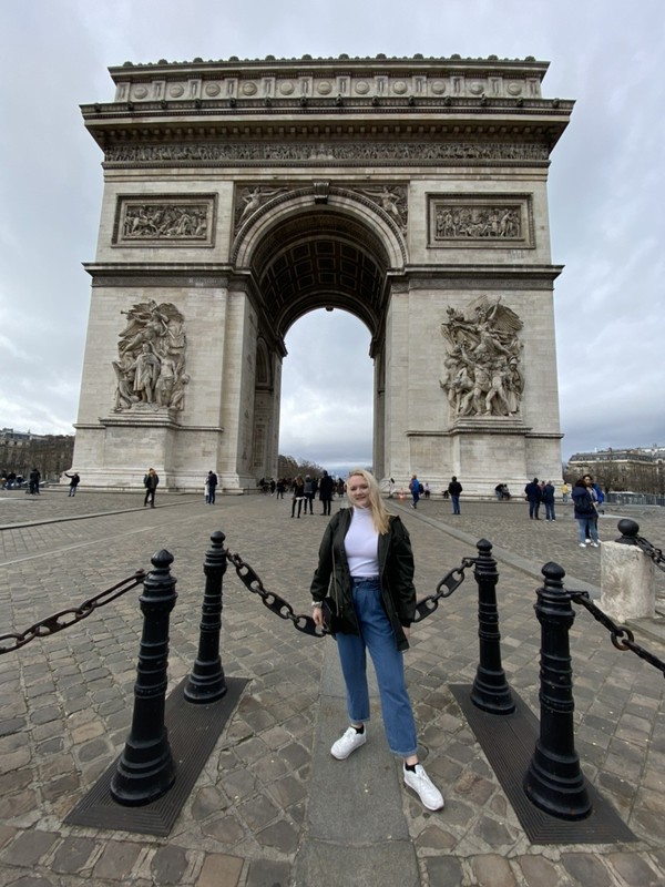 MUDEC girl in Paris, France