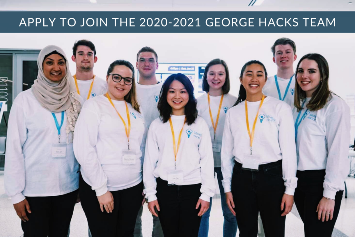 Apply to join the George Hacks Team