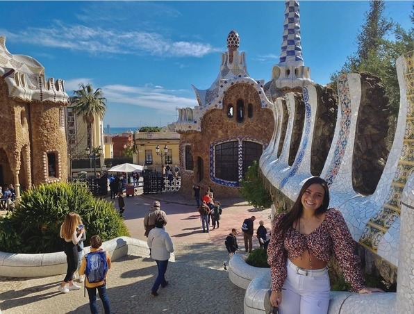 MUDECer at Park Guell