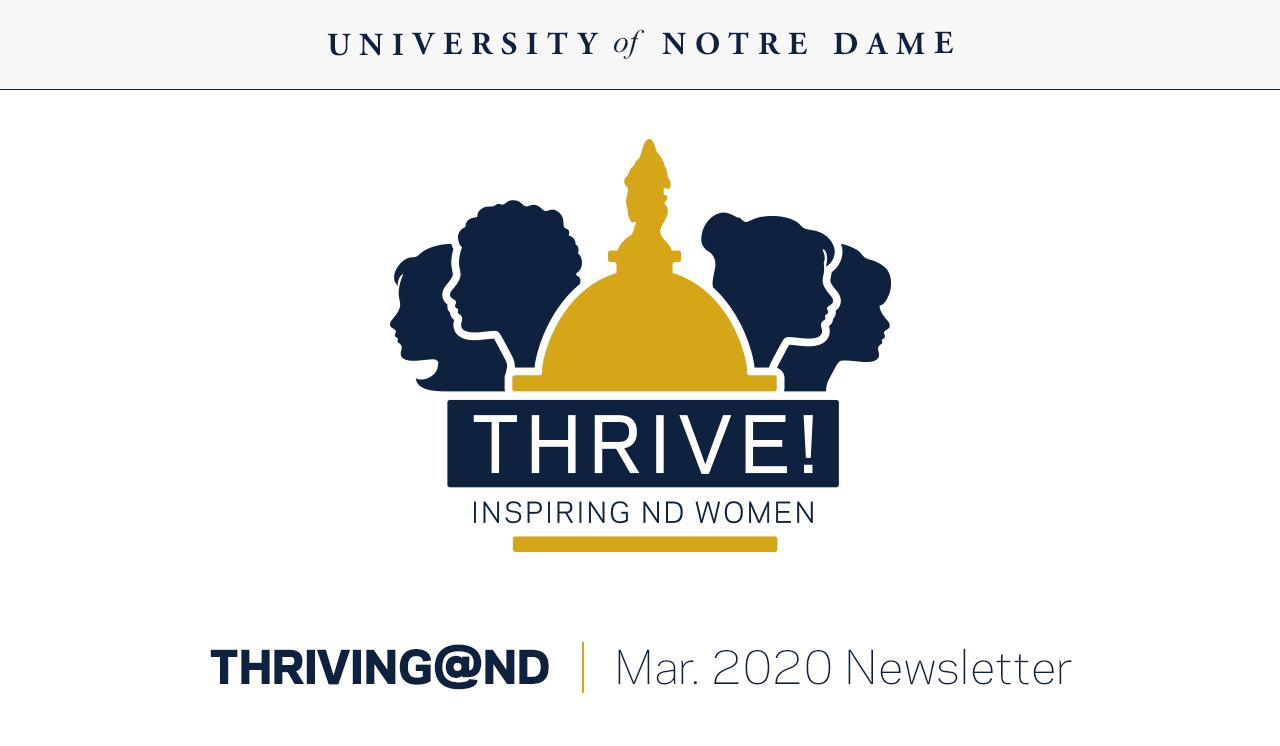 Thrive! Inspiring ND Women