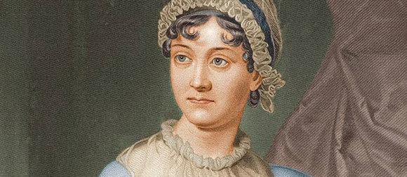 illustration of Jane Austen