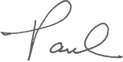 Paul (signature)