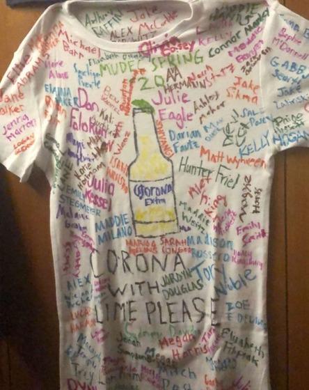MUDEC Spring class of 2020: class shirt