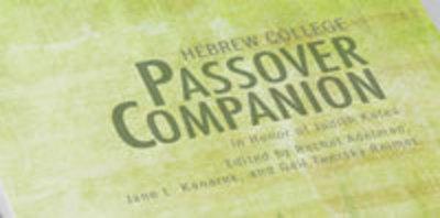 Passover Companion cover