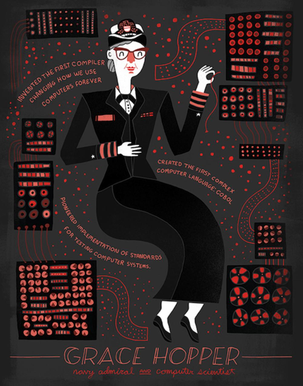 Grace Hopper by Rachel Ignotofsky
