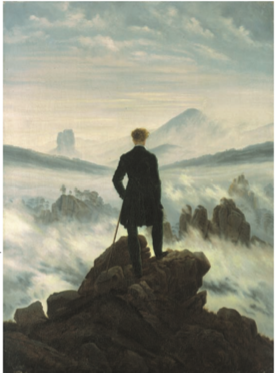 Wanderer Above a Sea of Mist