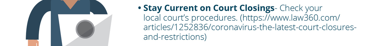 www.law360.com/articles/1252836/coronavirus-the-latest-court-closures-and-restrictions
